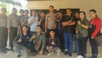 Polres Bintan Pererat Silahturahmi Dengan Media