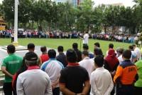Wako DR Firdaus Pimpin Apel Perdana Awal 2020 Dilingkungan Pemko Pekabaru