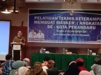pelatihan-teknis-keterampilan-membuat-masker-se-kota-pekanbaru