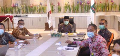 Bersama Gubernur Riau dan Ombudsman RI Perwakilan Riau, Bupati Siak Laksanakan Workshop Penilaian Kepatuhan