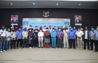Bupati dan Wakil Bupati Pelalawan Gelar Acara Temu Ramah Dengan Insan Pers