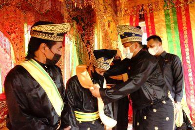 Bupati Siak Kukuhkan LAMR Kampung Tanjung Kuras