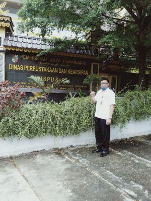 Dinas Perpustakaan dan Kearsipan Kuantan Singingi Studi Banding Ke Kota Pekanbaru, Ini Tujuannya!