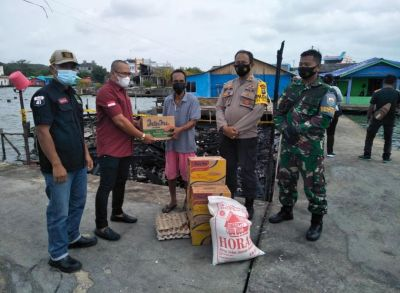 Korcam Melayu Raya Tanjungpinang Kota Salurkan Bantuan Korban Kebakaran