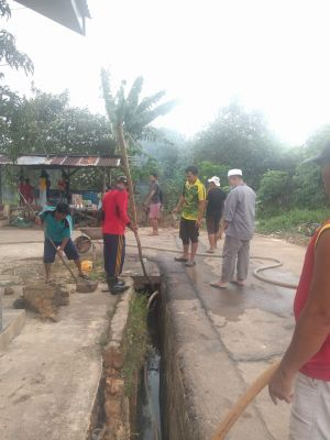 Pasca Banjir, Warga Kecamatan Tanjung Pinang Timur Gelar Goro Bersama