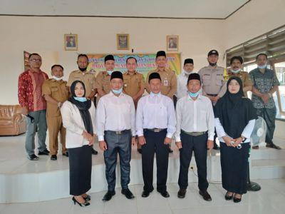 Pelantikan BPD Rambah Jaya, Camat Bangun Purba Berikan Ucapan Selamat