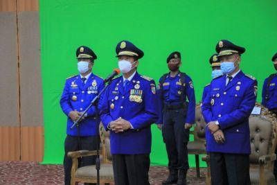 Peringati Hut Damkar ke-102 Secara Virtual, Wali kota Intruksikan Personil Damkar Harus Siap