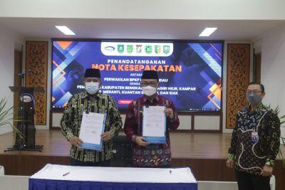 Perkuat Sinergitas Kerjasama, 6 Pemda MoU dengan BPKP Provinsi Riau