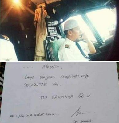 Sosok Haji Afwan, Pilot Sriwijaya Air yang Dikenal Santun dan Saleh