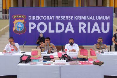 Tim Gabungan Bekuk Kawanan Rampok Uang Rp 775 Juta di Mesin ATM di Rohul